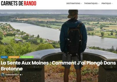 Article de David Génestal sur le blog Carnets de Rando 2021